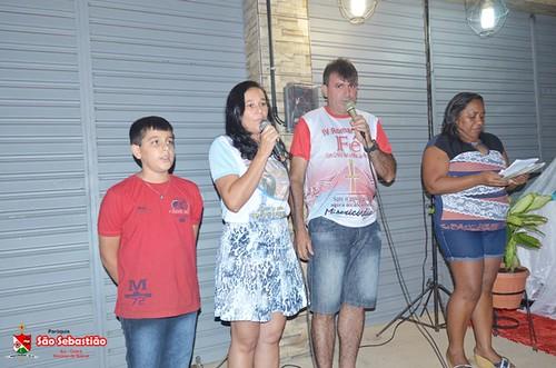 Encontro de cenáculos no bairro Pedrinhas