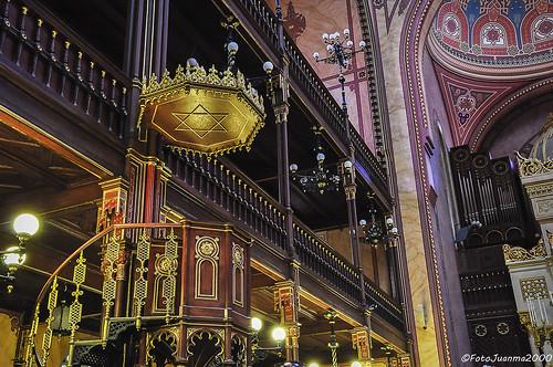"""""""Púlpito de la Gran Sinagoga"""" Budapest (Hungría)"""