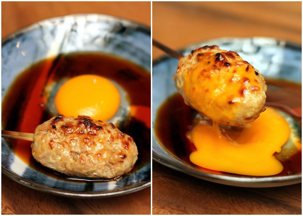 kurama-robatayaki-tsukune-meat-dipped-egg-yolk