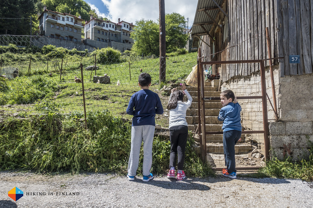 Kids in Metsovo