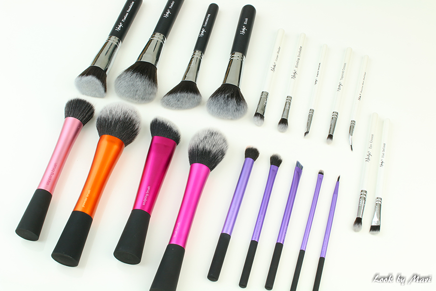1 Real techniques brushes review Nanshy brushes kokemuksia pastelbeauty.fi