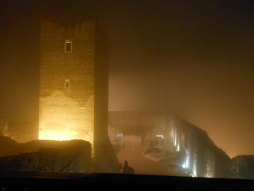 Castello di Giulietta tra la nebbia, ottobre 2012
