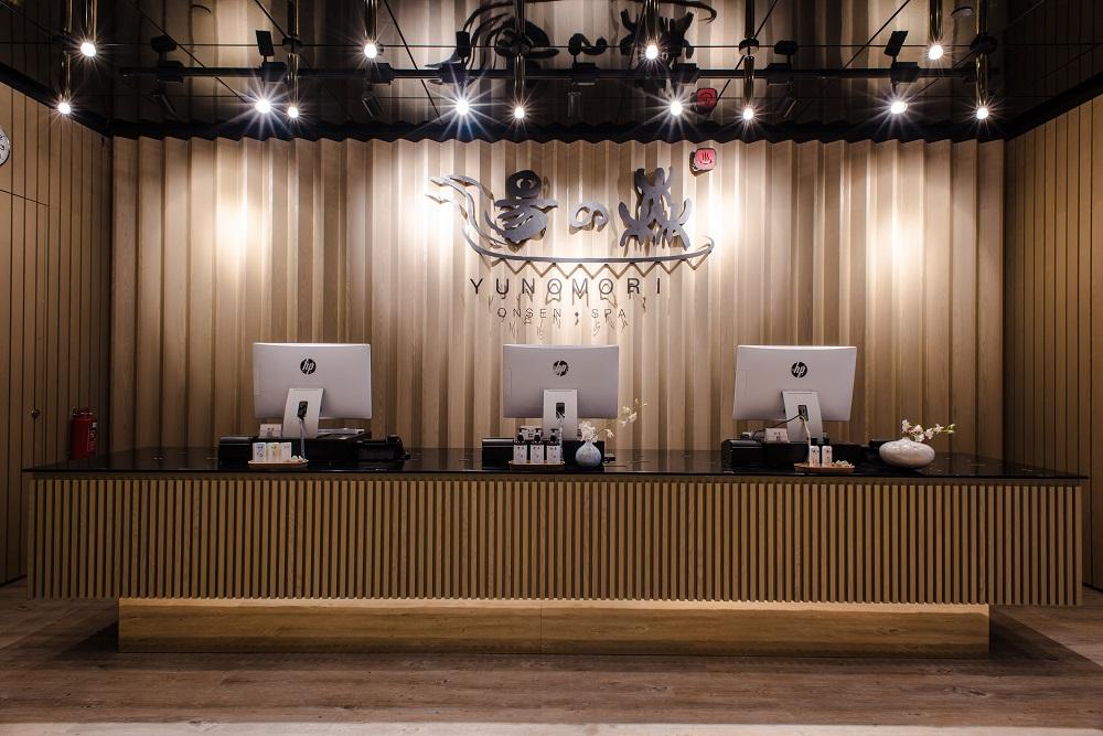 Yunomori Onsen & Spa Reception
