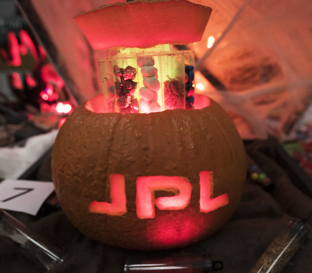 JPL Pumpkin Carving Contest