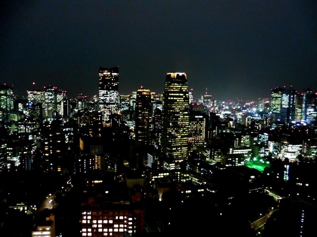 Tokyo Skyline vom Tokyo Tower