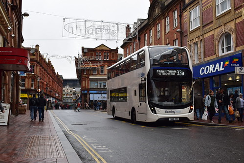 Brand new - Reading Buses 777/YN66BBZ | Route 33a | Reading, Station Street