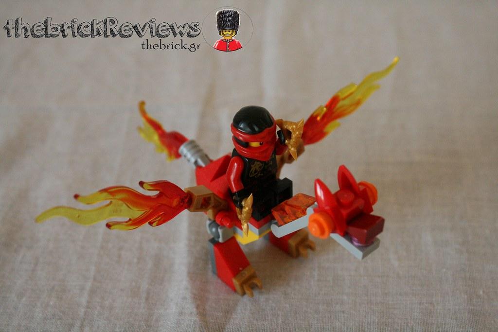 ThebrickReview: LEGO 30422 - Kai's Mini Dragon 30824024602_e8eacbe733_b