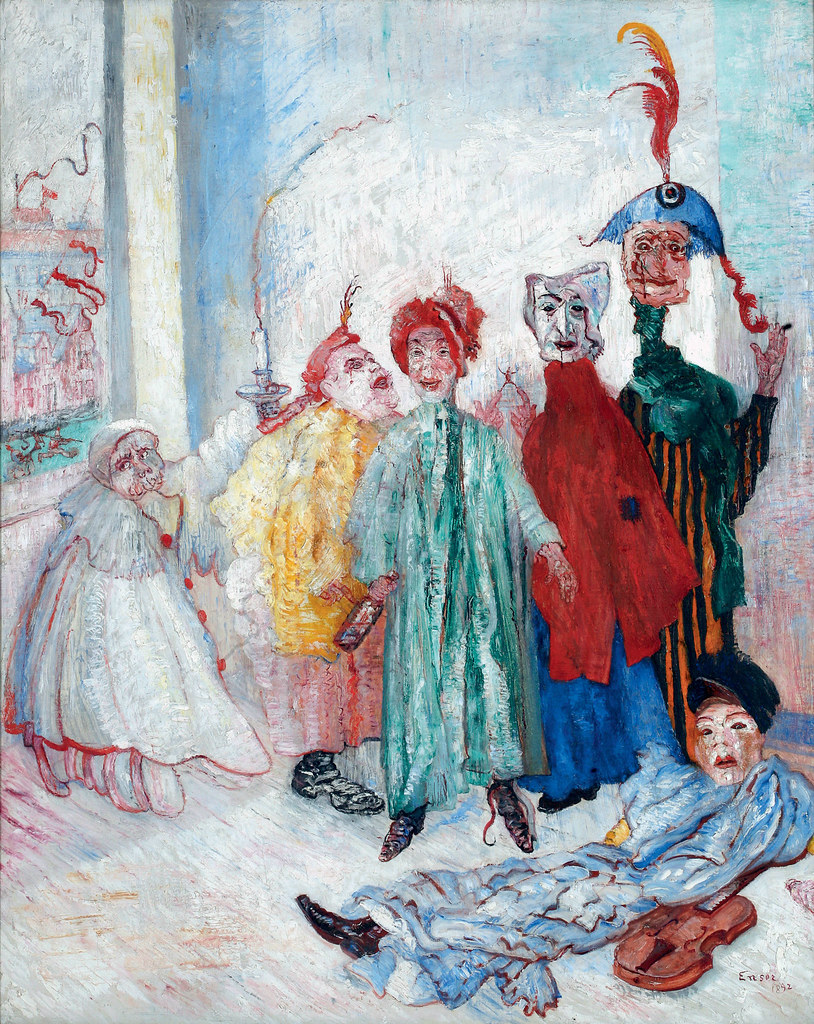 James Ensor - Singular Masks, 1892