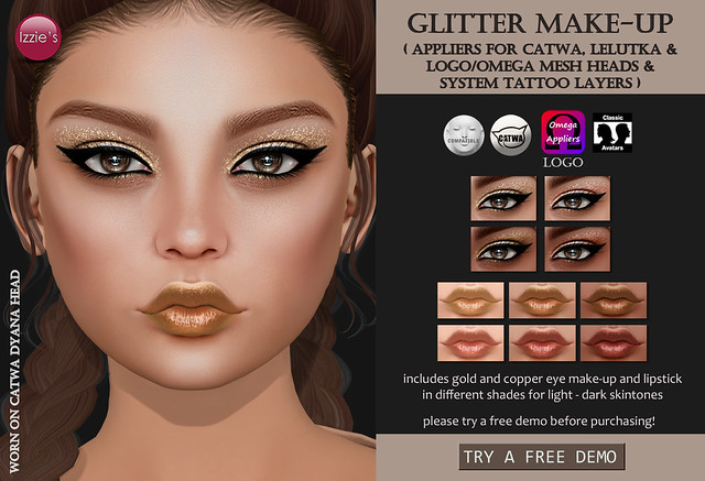 Glitter Make-Up (for FLF)