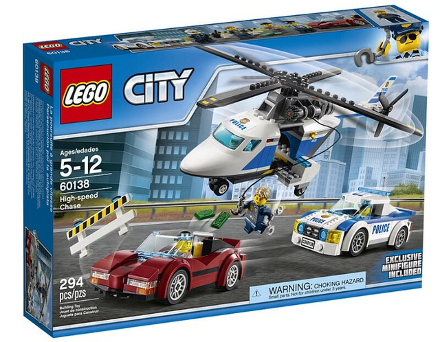 LEGO City 60138 - High-speed Chase