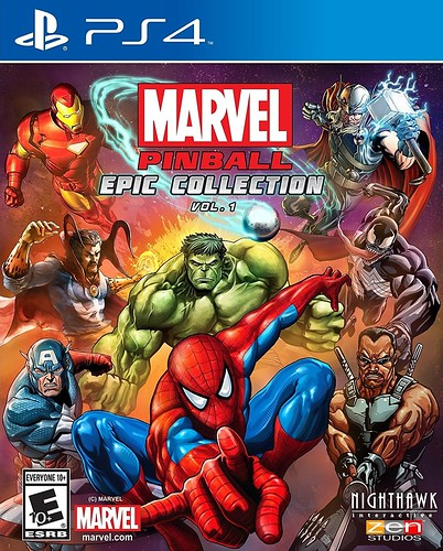 Marvel Pinball: Epic Collection Vol 1