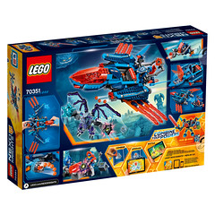 LEGO Nexo Knights 70351 Clay's Falcon Fighter Blaster 2