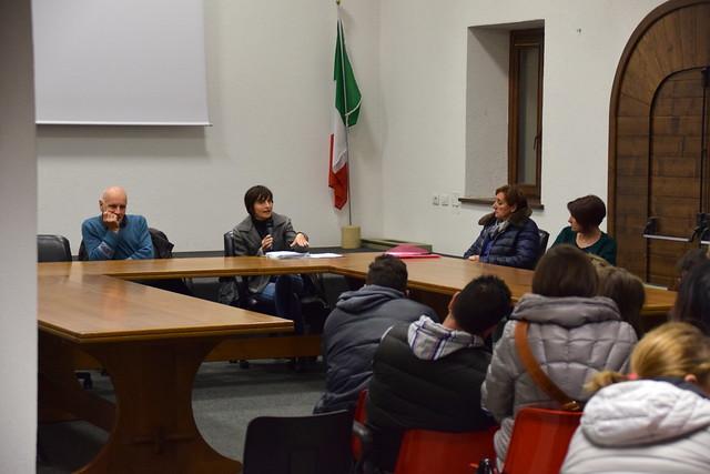 Incontro Scuola Mazzo_sala Consiliare