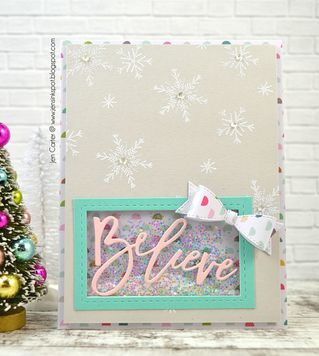 Jen Carter Believe Brush Script Shaker 3