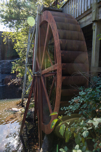 Rhett Mill waterwheel