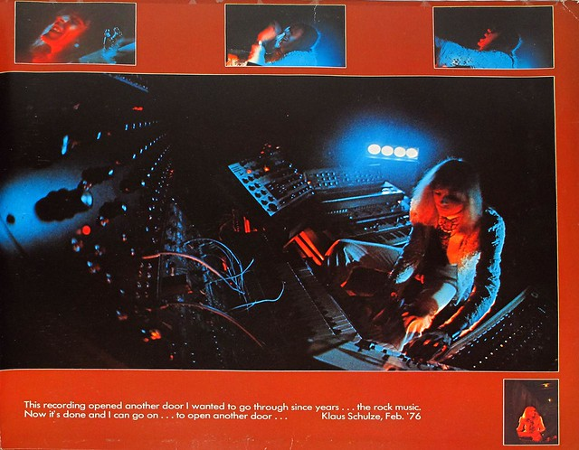 "KLAUS SCHULZE MOONDAWN BRAIN GATEFOLD 12"" LP"