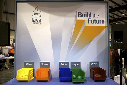 Oracle Java Advertising @ Maker Faire | by Schill