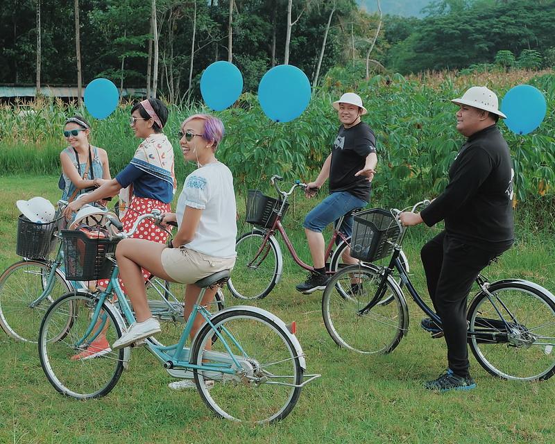 Cycling in Yogyakarta