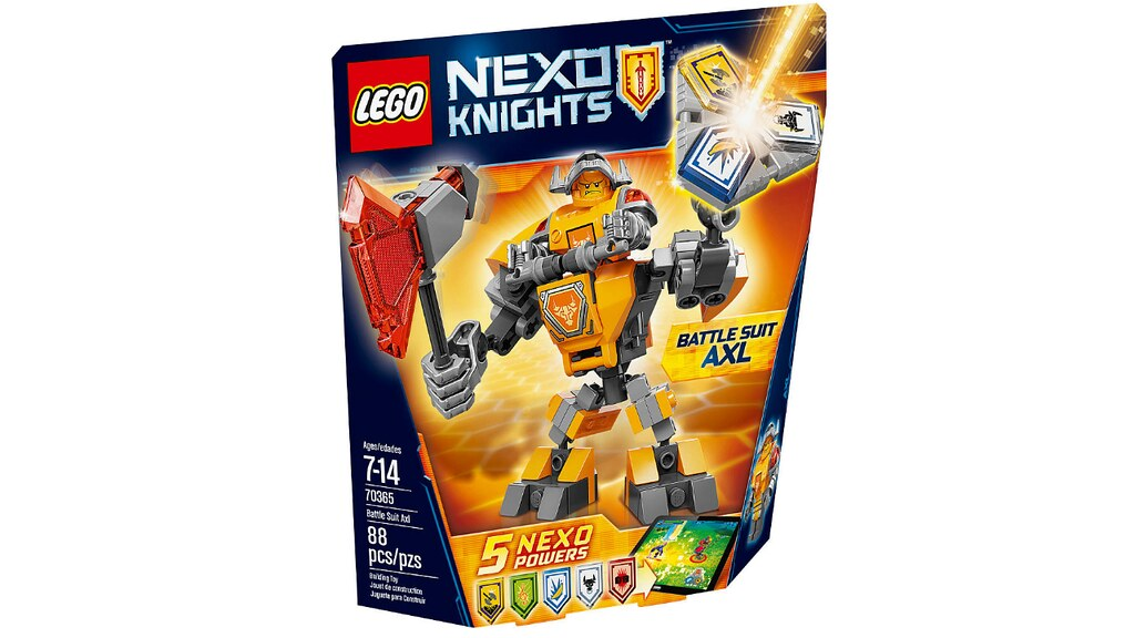 LEGO Nexo Knights 70365 - Battle Suit Axl