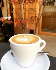 cappuccino❤︎  #weekenderscoffeetominokoji #京都 #latergram #cappuccino #kyoto #japan #富小路