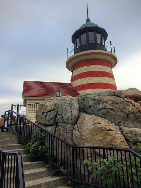 美國海濱燈塔