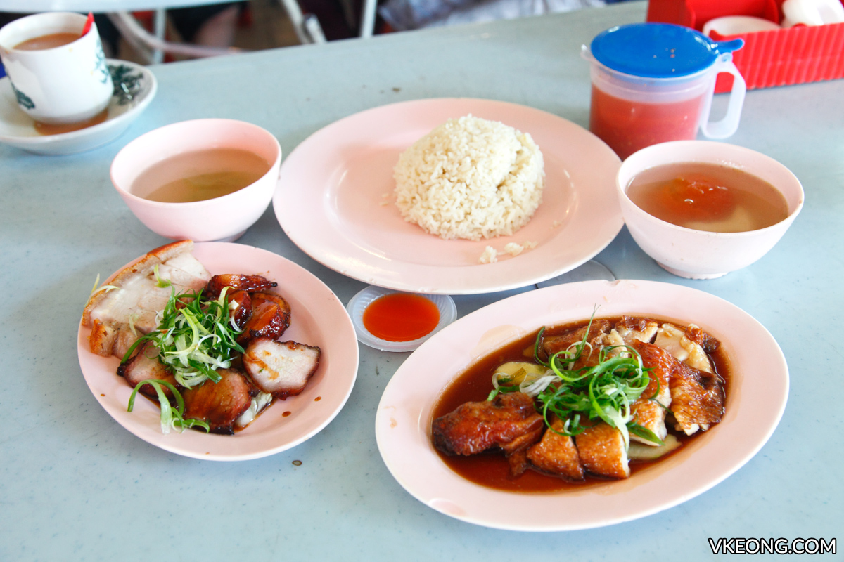 Fook Loong Chicken Rice Kepong food