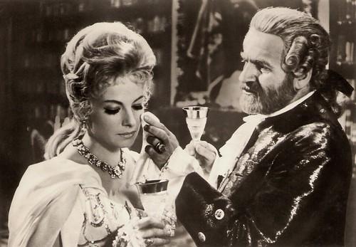Felix Le Breux and Milena Dvorska in Poslední ruze od Casanovy (1966)