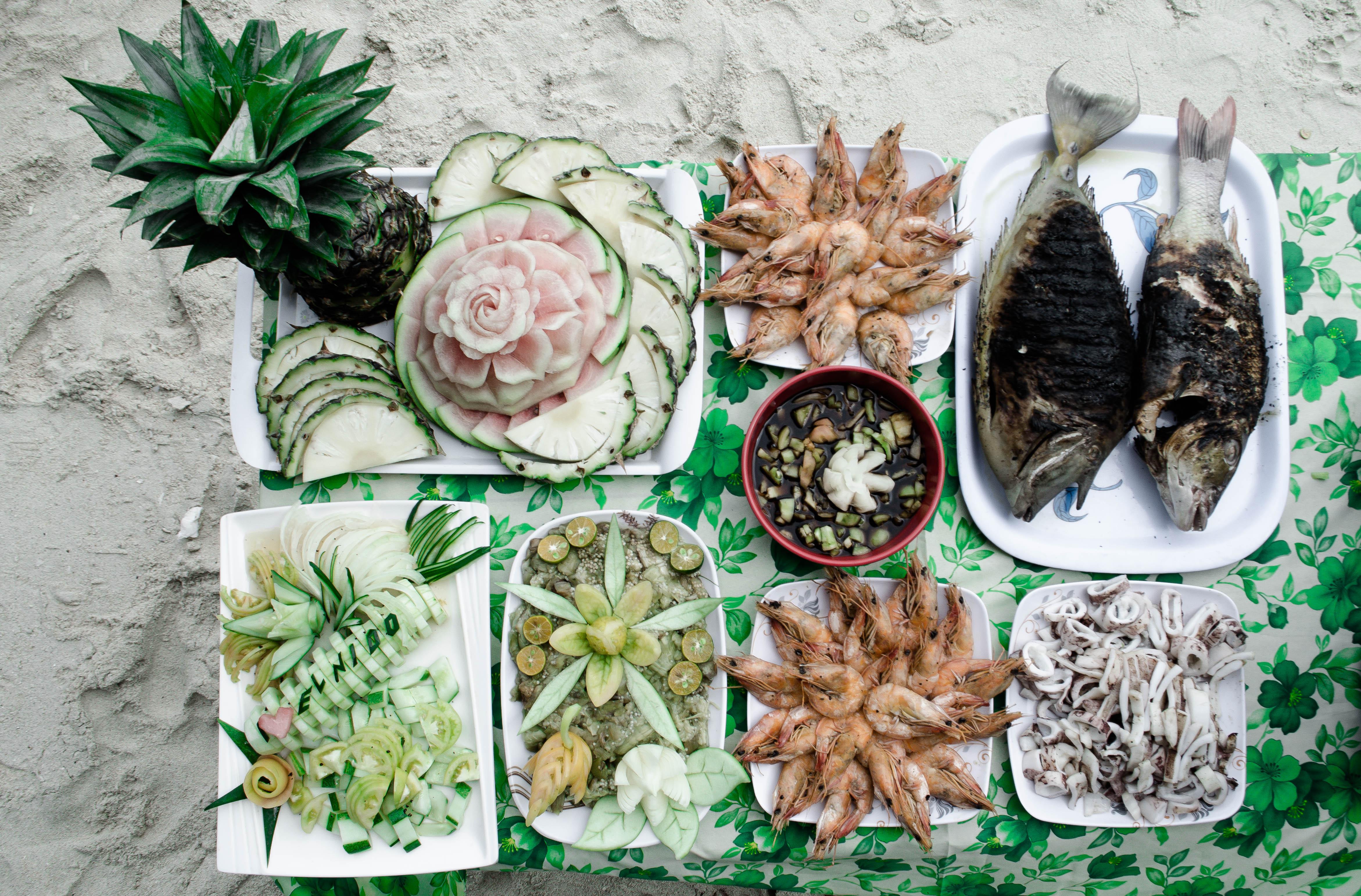 el nido island food