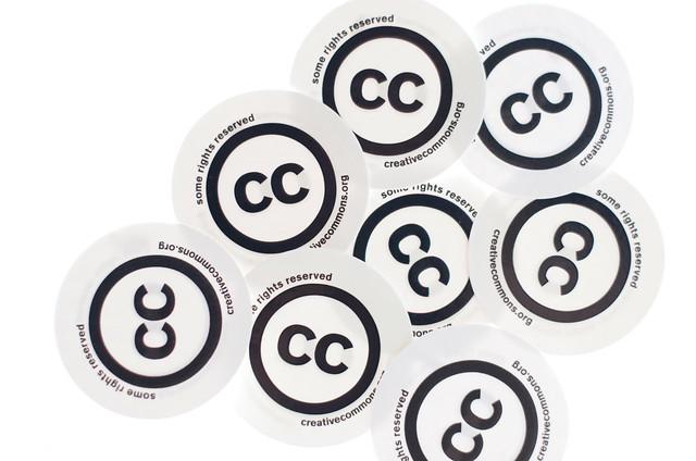 Creative Commons - cc stickers