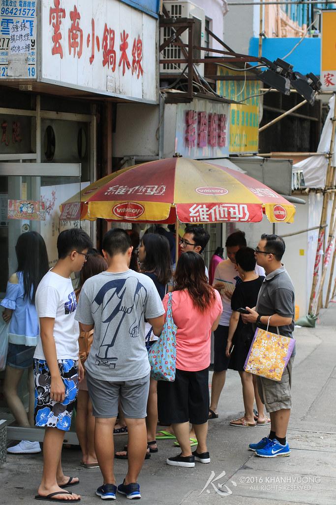 HK Trip '16 Day 3 0009 (雲南小鍋米線 - Queue)