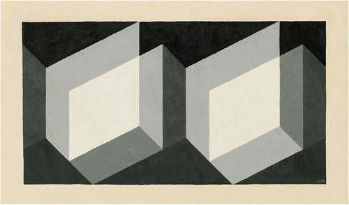 Josef Albers: Grey Steps, Grey Scales, Grey Ladders