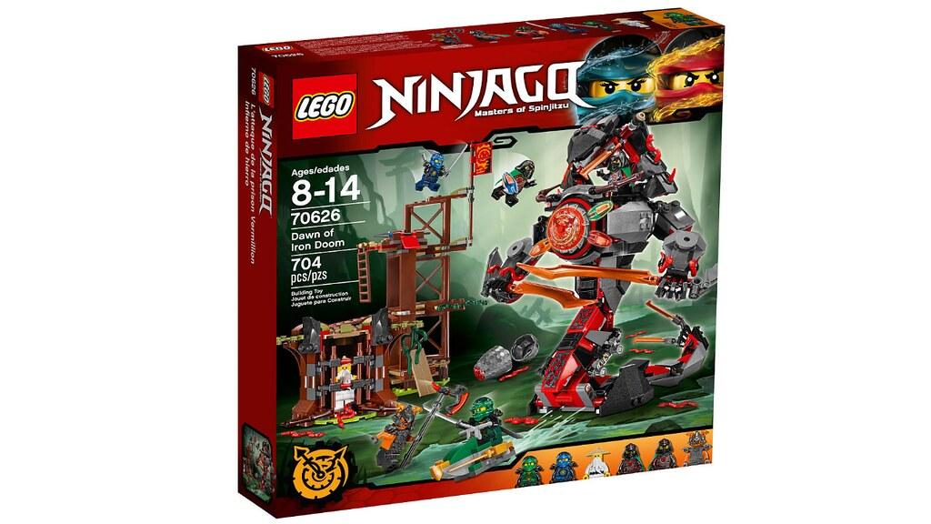 LEGO Ninjago 70626 - Dawn of Iron Doom