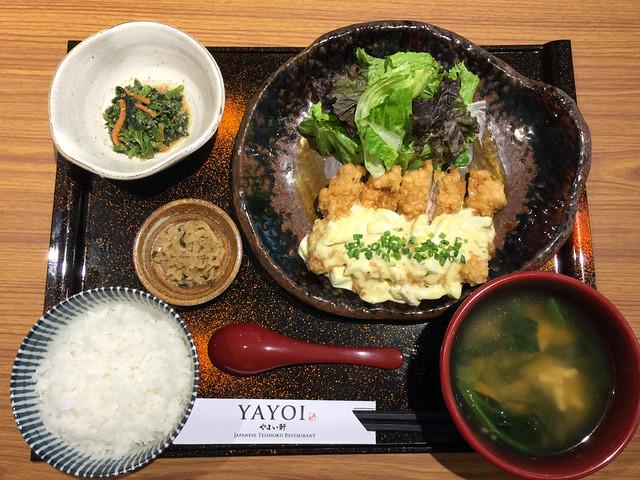 Yayoi Japanese Teishoku Restaurant Manila- Namban Teishoku P395