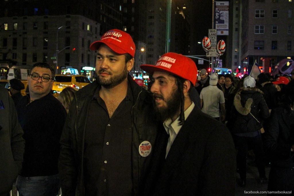 Ночь в Нью-Йорке, когда выбрали Трампа samsebeskazal-7675.jpg