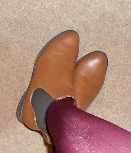 Primark tan Chelsea boots