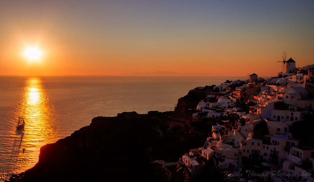 End of the day - Oia, Santorini, Greece