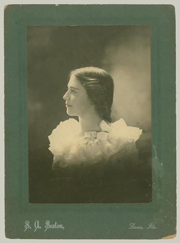 Card mounted portrait