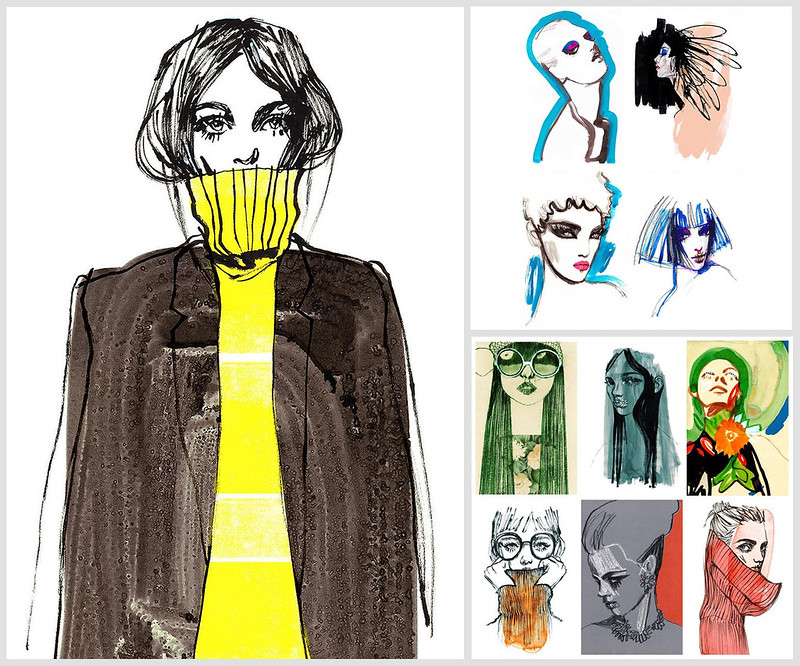 Lucy MacLeod Fashion Illustrations