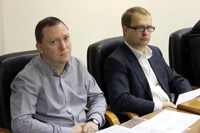 Антон Волков (ТопДистрибьюшн Сервисез), Алексей Абросимов (Хёрст Шкулёв Медиа)