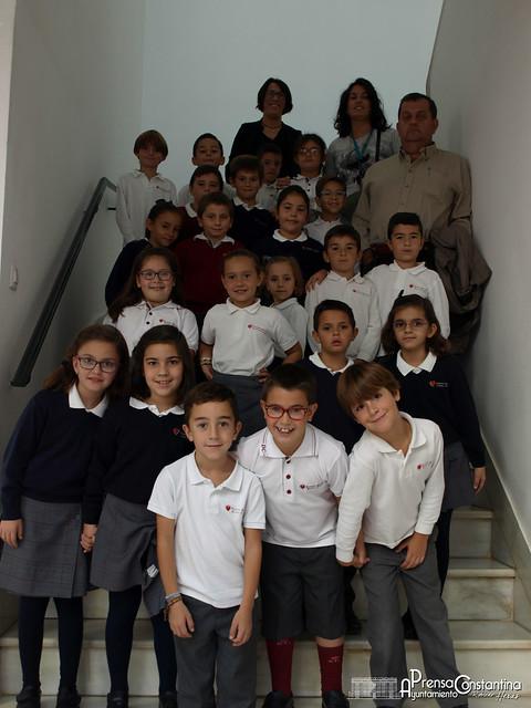 Visita escolares al Ayuntamiento 02/11/2016