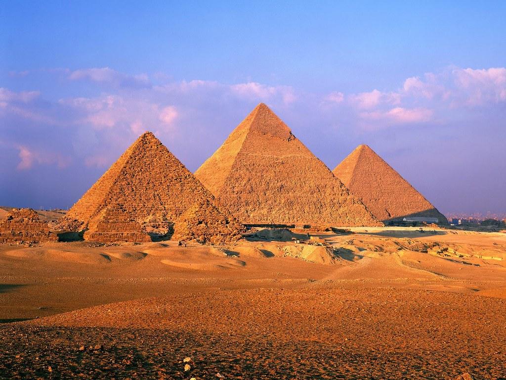 Piramides de Giza (Egipto)