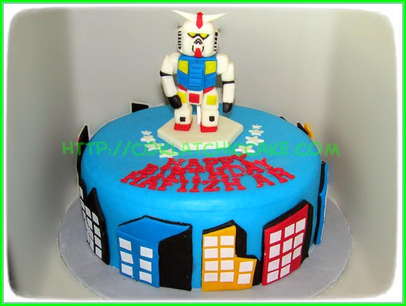 Cake Gundam