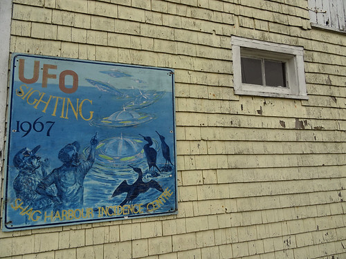 Shag Harbour Museum sign