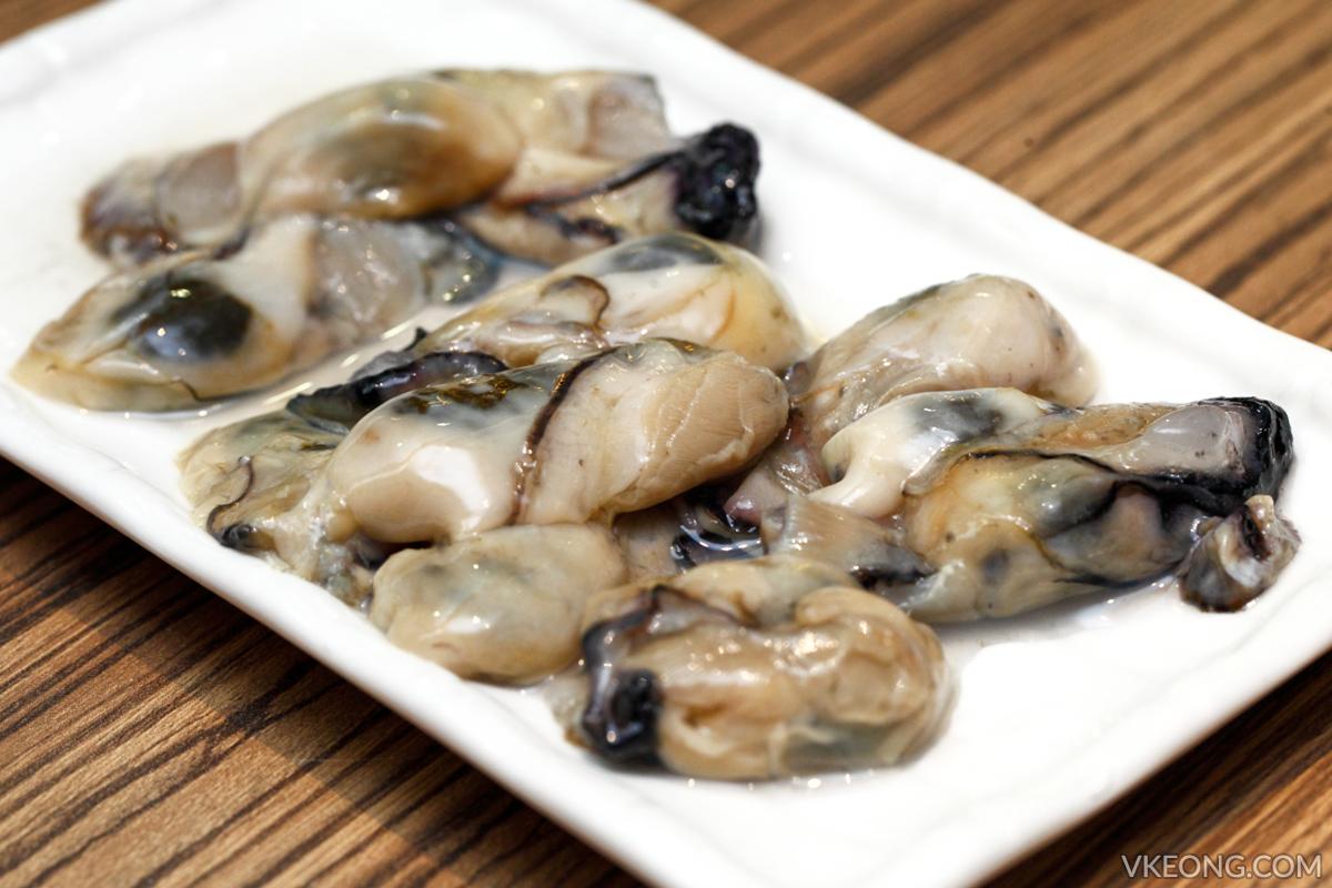 HK Hotpot Korean Oysters