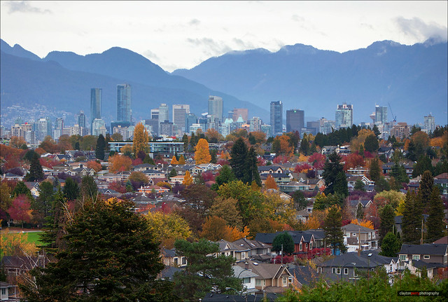 Vancouver In All It's Autumn Colours