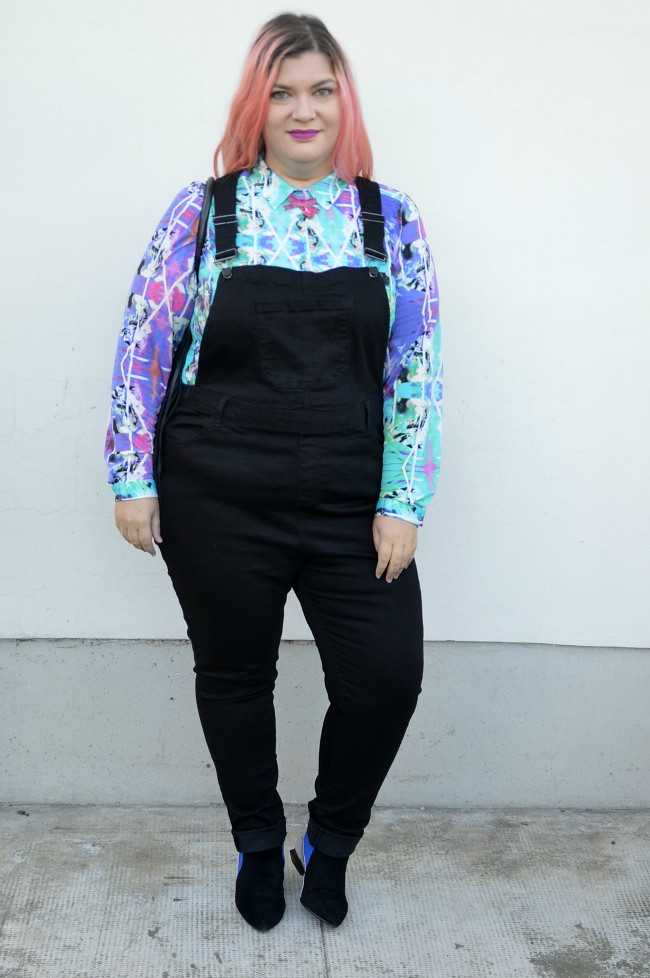 Outfit plus size salopette  (7)