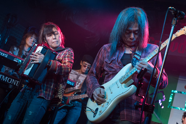 Rory Gallagher Tribute Festival - jam session at Crawdaddy Club, Tokyo, 22 Oct 2016 -00402
