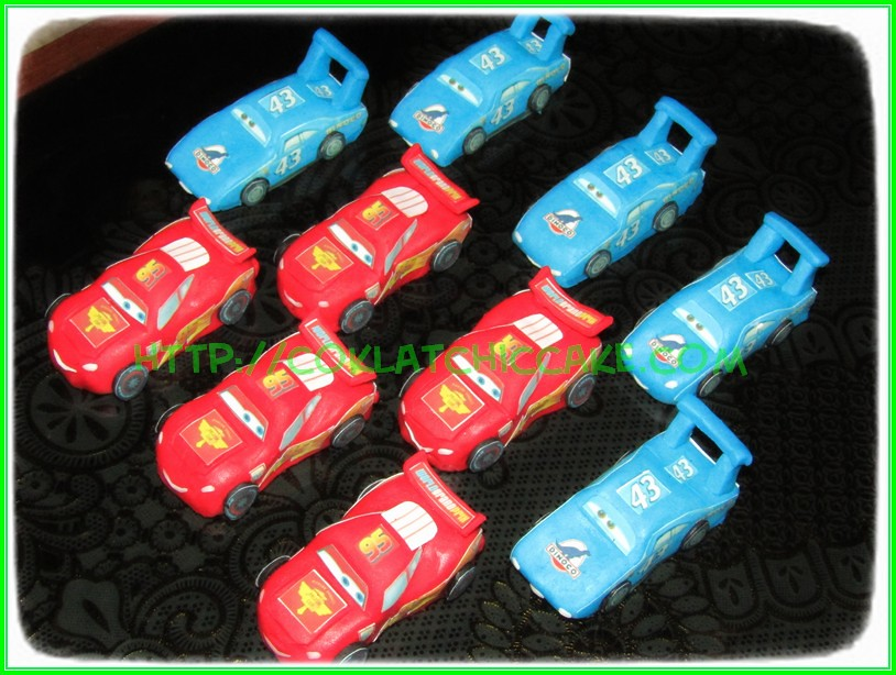 Minicake disney cars