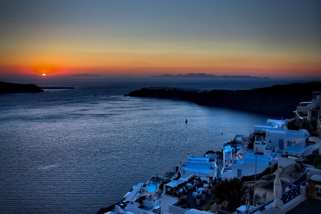 Sunset in Imerovigli