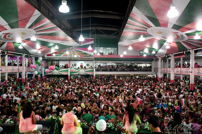 Mangueira 2017, final da escolha do samba-enredo